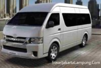 Tarif + Rute Travel Lampung Bekasi