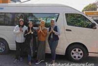 Penyedia Jasa Mobil Travel Tangerang Lampung Terlengkap
